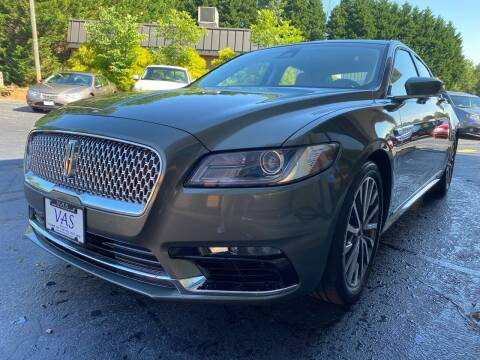 2017 Lincoln Continental for sale at Viewmont Auto Sales in Hickory NC