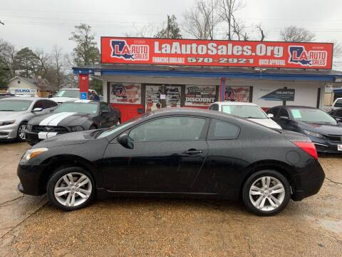 2012 Nissan Altima for sale at LA Auto Sales in Monroe LA