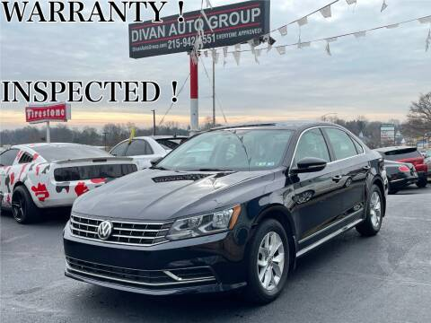 2017 Volkswagen Passat for sale at Divan Auto Group in Feasterville PA
