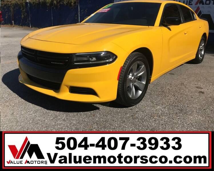 2017 Dodge Charger for sale at Value Motors Company in Marrero LA
