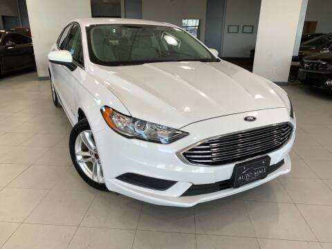 2018 Ford Fusion Hybrid for sale at Auto Mall of Springfield in Springfield IL