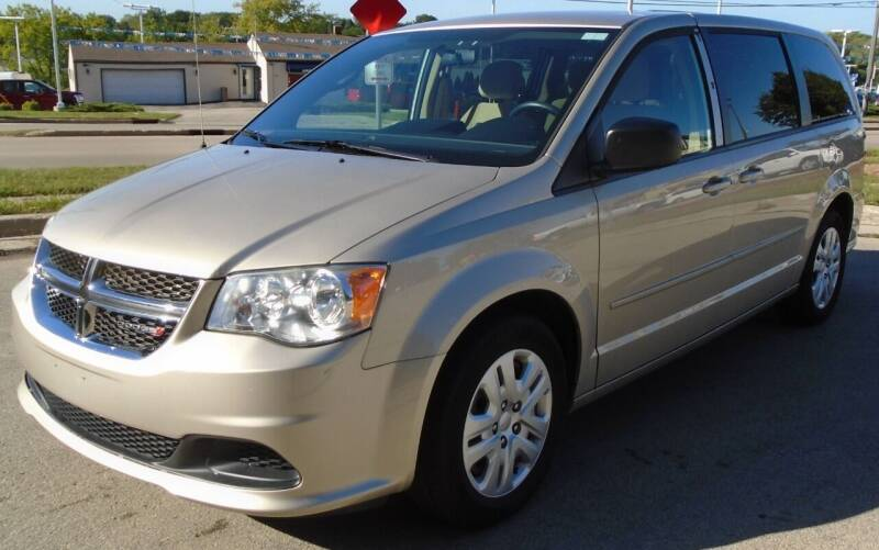 2014 Dodge Grand Caravan for sale at Waukeshas Best Used Cars in Waukesha WI