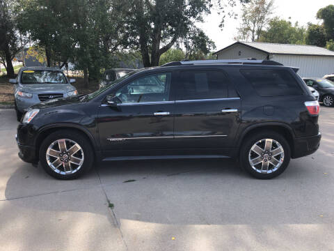 2012 GMC Acadia for sale at 6th Street Auto Sales in Marshalltown IA