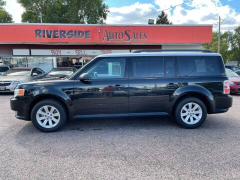 2011 Ford Flex for sale at RIVERSIDE AUTO SALES in Sioux City IA