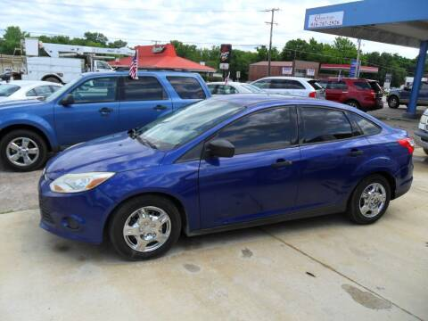 2012 Ford Focus for sale at C MOORE CARS in Grove OK