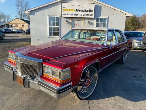 1987 Cadillac Brougham for sale at COLUMBUS AUTOMOTIVE in Reynoldsburg OH