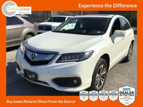 2018 Acura RDX for sale at Dallas Auto Finance in Dallas TX
