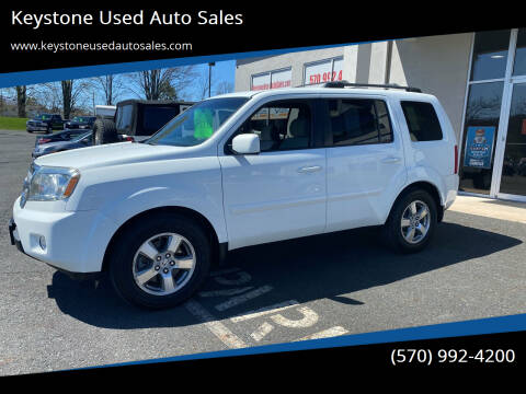 2009 Honda Pilot for sale at Keystone Used Auto Sales in Brodheadsville PA