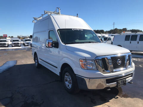 2012 Nissan NV Cargo for sale at CARGO VAN GO.COM in Shakopee MN