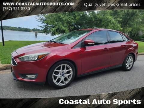2015 Ford Focus for sale at Coastal Auto Sports in Chesapeake VA