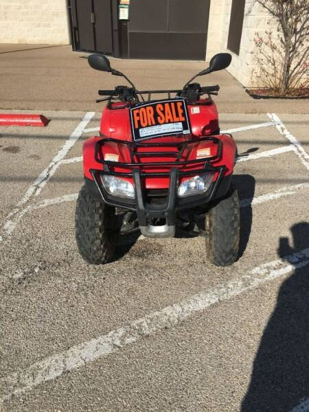 2006 Honda Recon for sale at A ASSOCIATED VEHICLE SALES in Weatherford TX