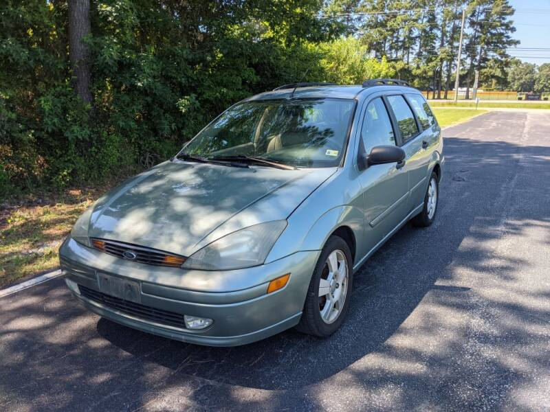 2004 Ford Focus for sale at Hal's Auto Sales in Suffolk VA