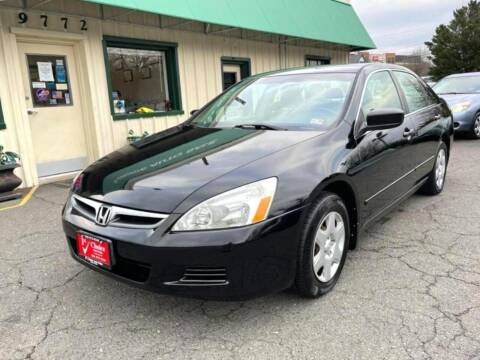 2006 Honda Accord for sale at 1st Choice Auto Sales in Fairfax VA