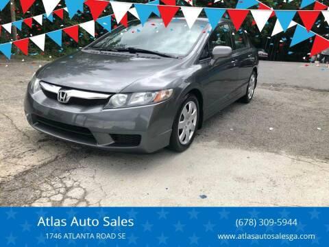 2009 Honda Civic for sale at Atlas Auto Sales in Smyrna GA