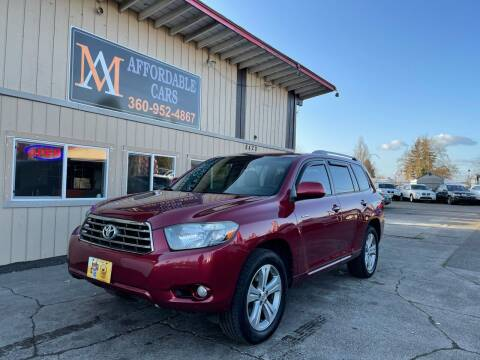 2008 Toyota Highlander for sale at M & A Affordable Cars in Vancouver WA