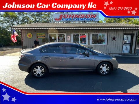 2015 Honda Civic for sale at Johnson Car Company llc in Crown Point IN