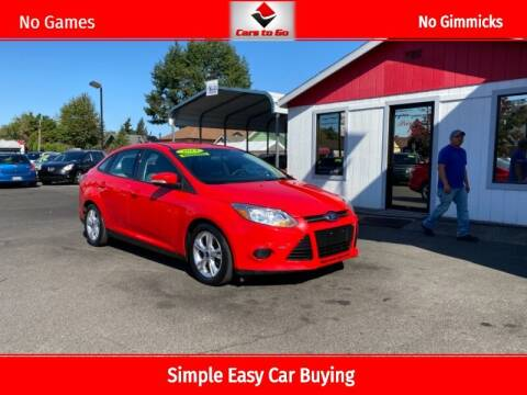 2014 Ford Focus for sale at Cars To Go in Portland OR
