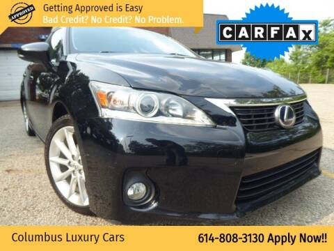2011 Lexus CT 200h for sale at Columbus Luxury Cars in Columbus OH