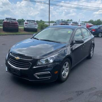 2016 Chevrolet Cruze Limited for sale at JOANKA AUTO SALES in Newark NJ