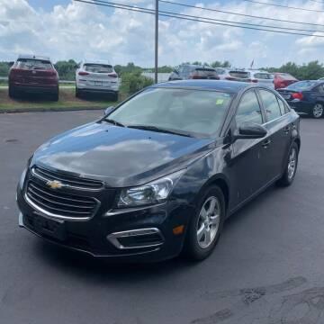2016 Chevrolet Cruze Limited for sale at JOANKA AUTO SALES in Newark NJ
