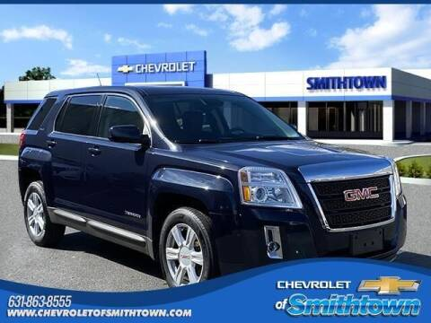2015 GMC Terrain for sale at CHEVROLET OF SMITHTOWN in Saint James NY