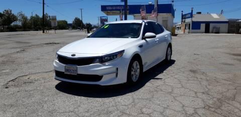 2016 Kia Optima for sale at Autosales Kingdom in Lancaster CA