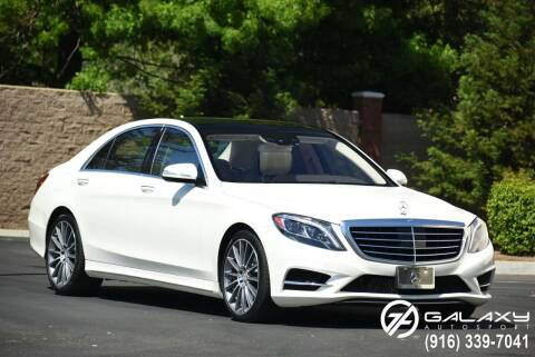 2014 Mercedes-Benz S-Class for sale at Galaxy Autosport in Sacramento CA