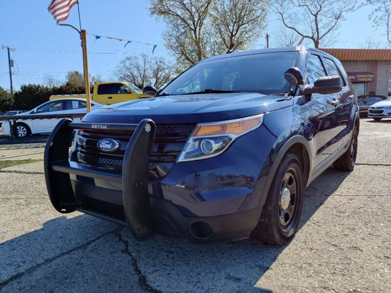 2015 Ford Explorer for sale at Lamarina Auto Sales in Dearborn Heights MI