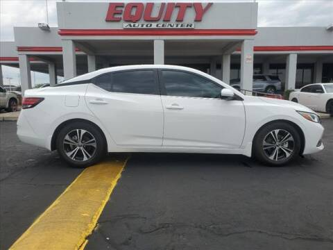 2020 Nissan Sentra for sale at EQUITY AUTO CENTER in Phoenix AZ