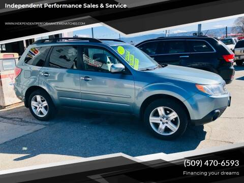 2010 Subaru Forester for sale at Independent Performance Sales & Service in Wenatchee WA