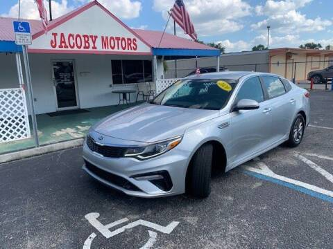 2020 Kia Optima for sale at Jacoby Motors in Fort Myers FL
