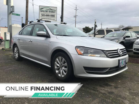 2015 Volkswagen Passat for sale at Salem Auto Market in Salem OR