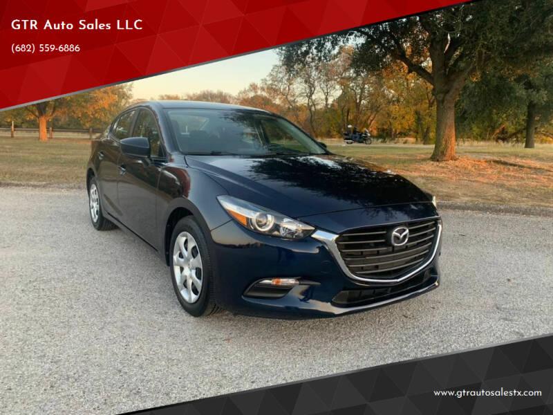 2018 Mazda MAZDA3 for sale at GTR Auto Sales LLC in Haltom City TX