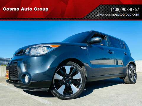 2015 Kia Soul for sale at Cosmo Auto Group in San Jose CA