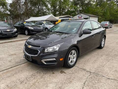 2015 Chevrolet Cruze for sale at AUTO WOODLANDS in Magnolia TX