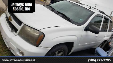 2009 Chevrolet TrailBlazer for sale at Jeffreys Auto Resale, Inc in Clinton Township MI