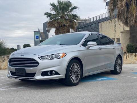 2013 Ford Fusion for sale at Motorcars Group Management - Bud Johnson Motor Co in San Antonio TX
