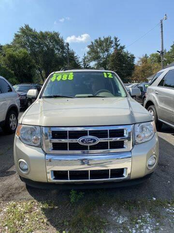 2012 Ford Escape for sale at Mastro Motors in Garden City MI