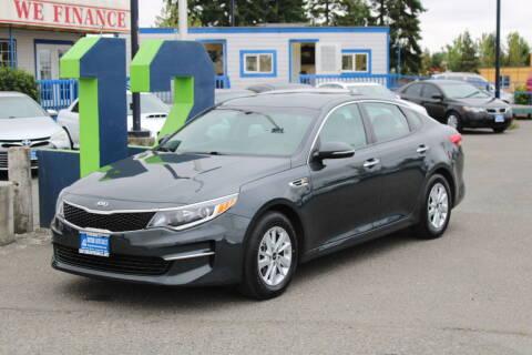 2016 Kia Optima for sale at BAYSIDE AUTO SALES in Everett WA