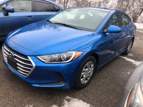 2018 Hyundai Elantra for sale at Matt Jones Preowned Auto in Wheeling WV