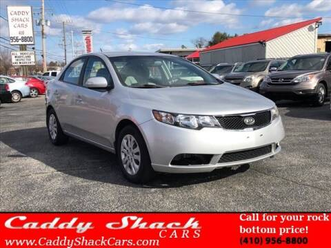 2010 Kia Forte for sale at CADDY SHACK CARS in Edgewater MD