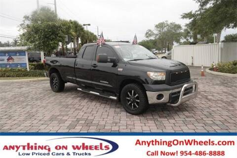 2012 Toyota Tundra for sale at JumboAutoGroup.com - Anythingonwheels.com in Oakland Park FL