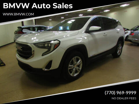 2018 GMC Terrain for sale at BMVW Auto Sales in Union City GA