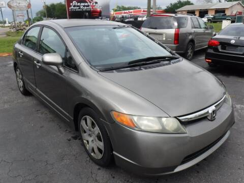 2008 Honda Civic for sale at LEGACY MOTORS INC in New Port Richey FL