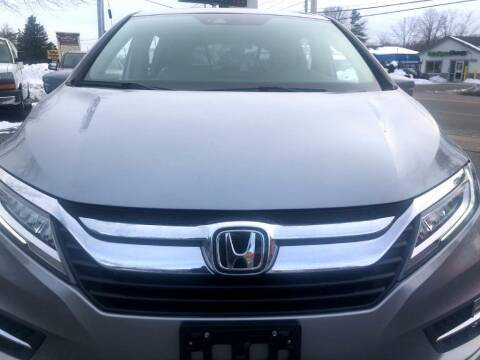 2018 Honda Odyssey for sale at RT28 Motors in North Reading MA