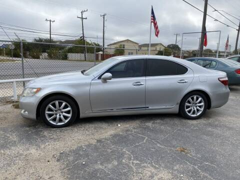 2008 Lexus LS 460 for sale at C&R  MOTORS in San Antonio TX