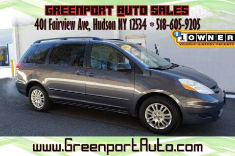 2007 Toyota Sienna for sale at GREENPORT AUTO in Hudson NY