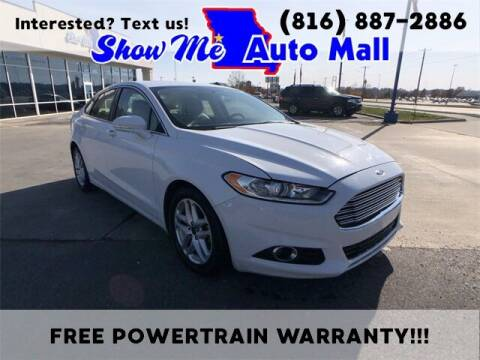 2015 Ford Fusion for sale at Show Me Auto Mall in Harrisonville MO