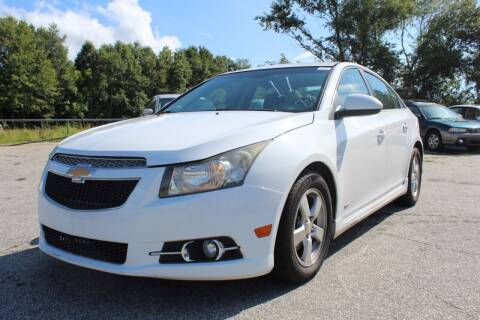 2011 Chevrolet Cruze for sale at UpCountry Motors in Taylors SC
