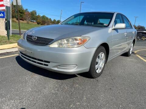 2002 Toyota Camry for sale at CarXpress in Fredericksburg VA